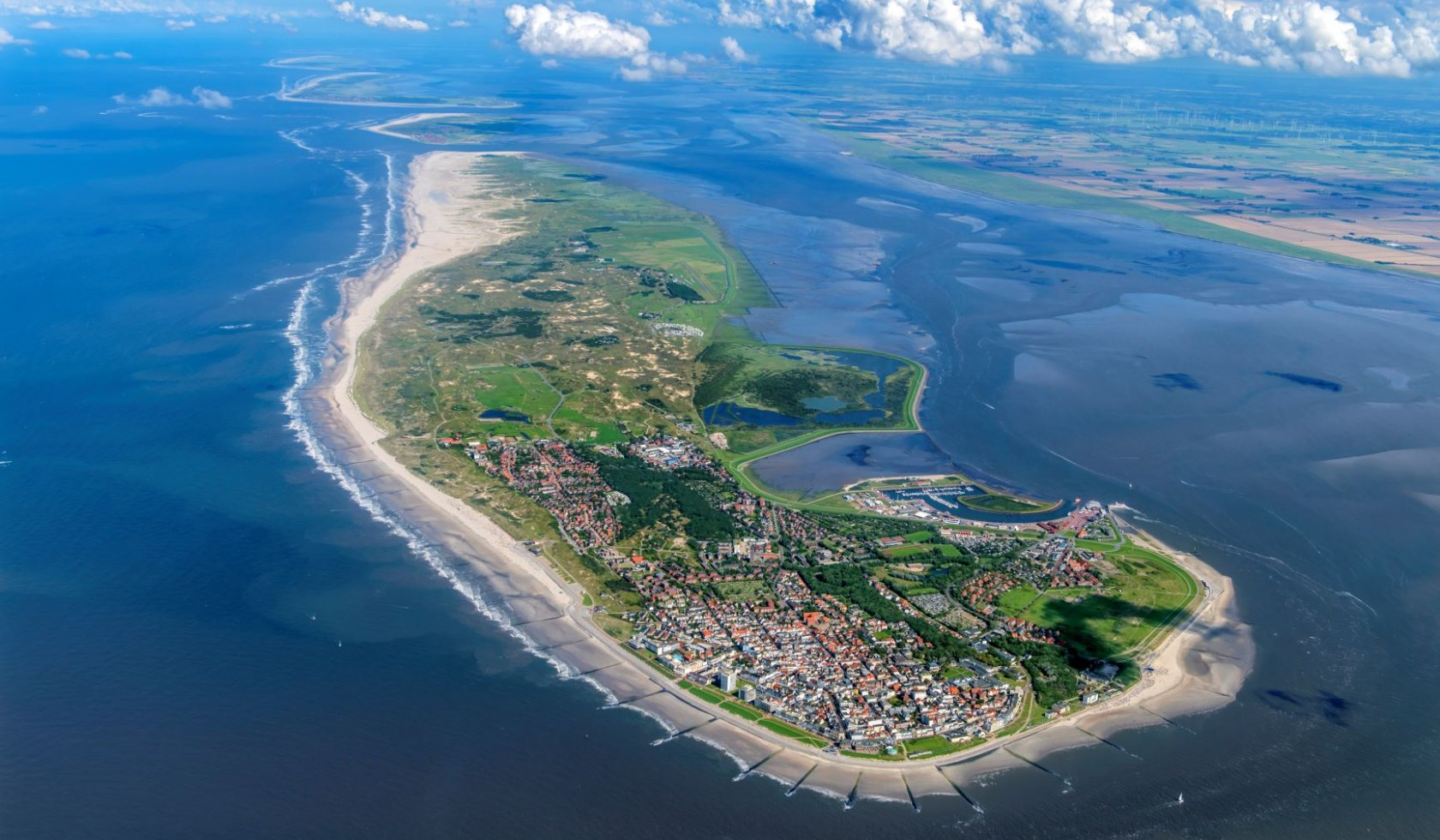 Norderney Luchtfoto